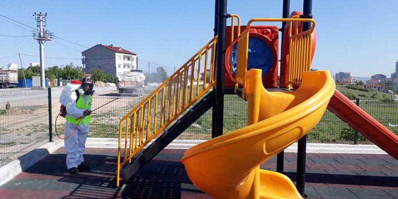 Parklar, çocuklar için hazırlanıyor