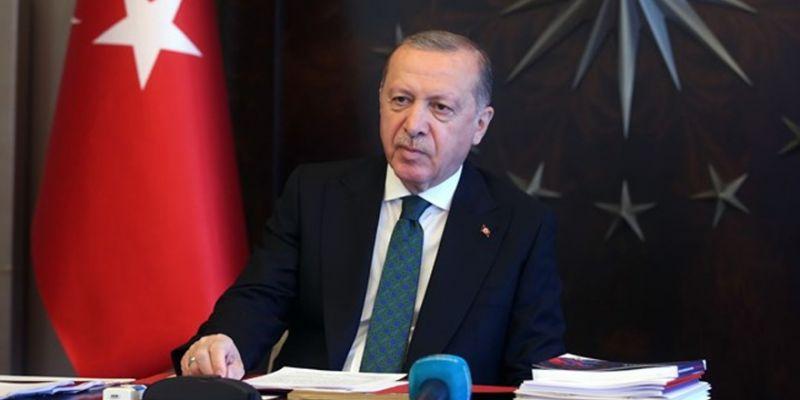 Cumhurbaşkanı Erdoğan'dan maske açıklaması