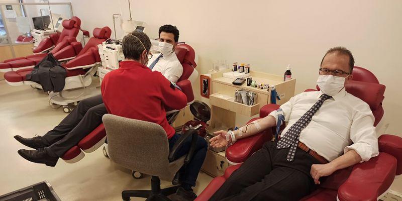 Toyota Plaza Kocaeli Kaya'dan kan bağışına teşvik