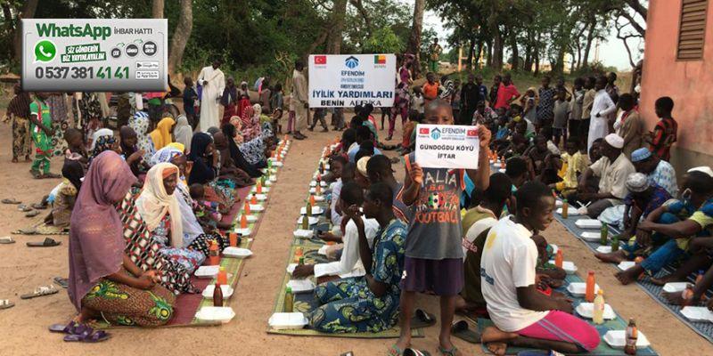 İzmit'ten Afrika'ya iftar sofrası