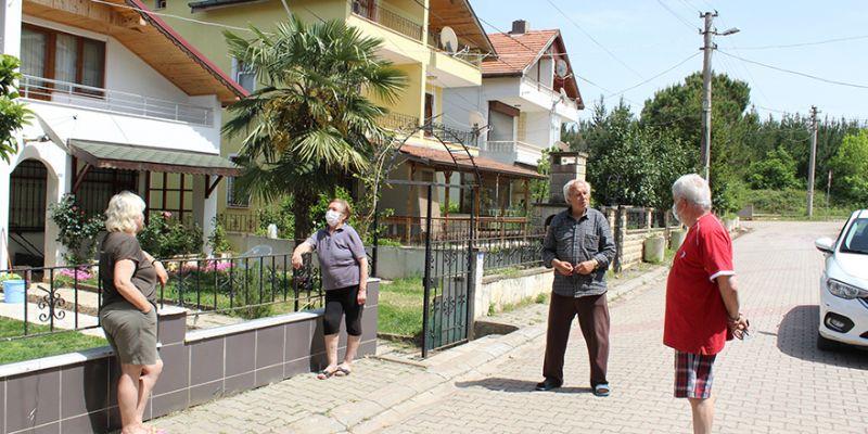 Yazlıkçılar 'salgın' korkusuyla evlerinden çıkmıyor