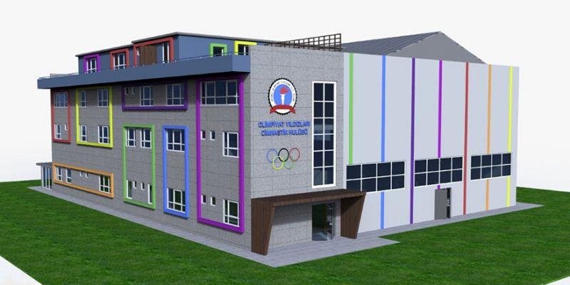 Olimpiyat Arena Yeniköy'de inşa ediliyor