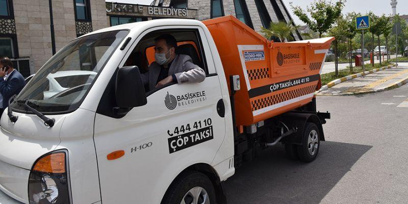 Başiskele'de 'Çöp Taksi'hizmeti
