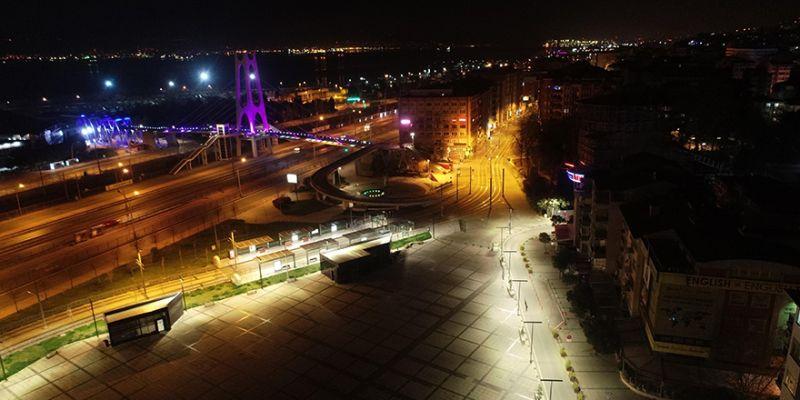 Kocaeli'de sokağa çıkma yasağı başladı