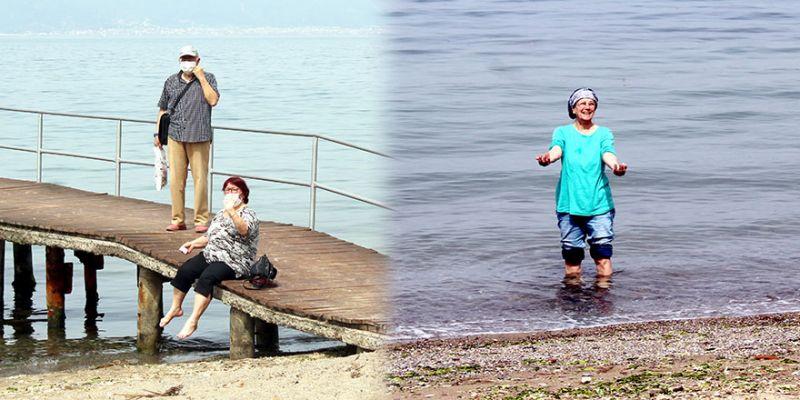 Yasaksız günlerini denizde geçirdiler