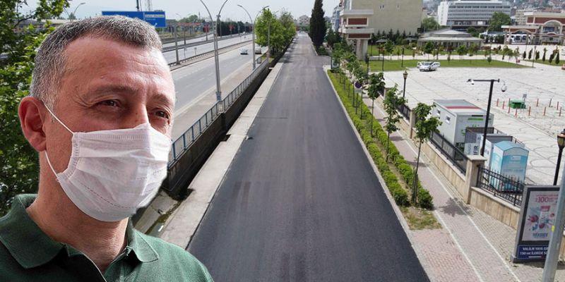 Büyükakın talimat verdi, bir günde asfaltlandı