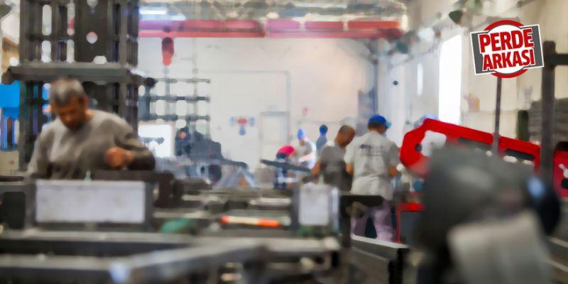Fabrika çalışanının zor anları
