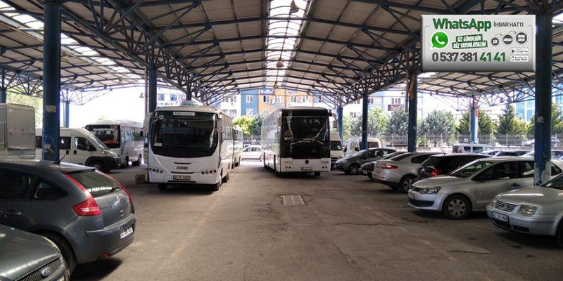 Otobüsler gelişigüzel bırakılıyor