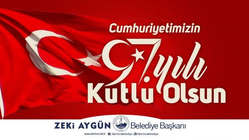Derince'de 29 Ekim coşkuyla kutlanacak