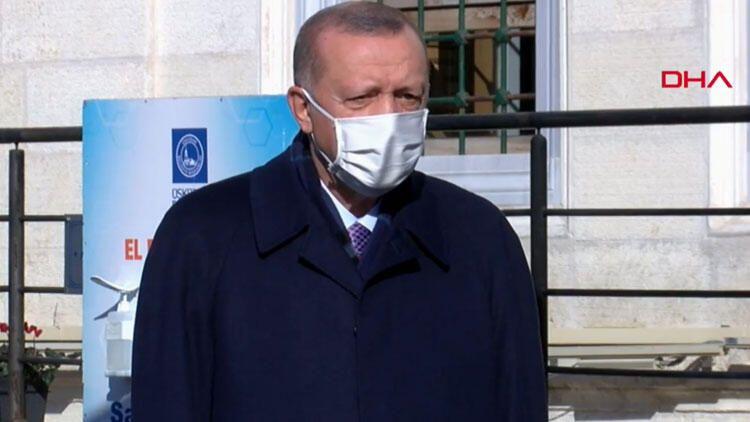 Cumhurbaşkanı Erdoğan: Tedbirler almaya mecburuz ve alacağız