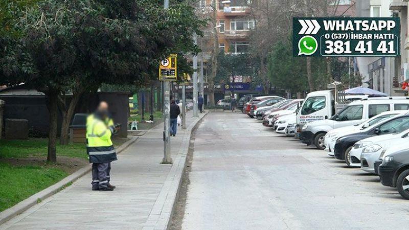 Parkomat 2 gün için 110 lira ücret almış!