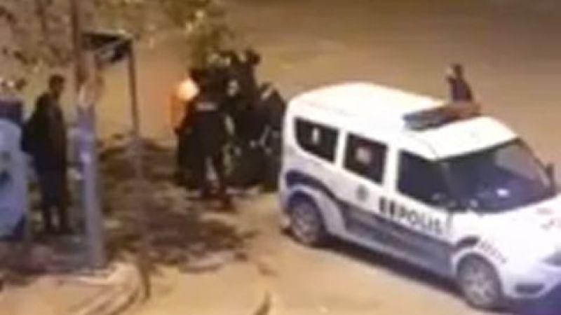 Sokağa çıkma kısıtlamasına uymayıp küfredince gözaltına alındılar