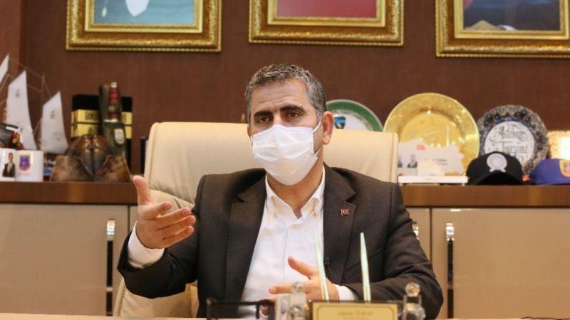 """Başkan Turan zorlu süreci anlattı: """"Hayata bakışınızın dapozitif olmasıgerekiyor"""""""