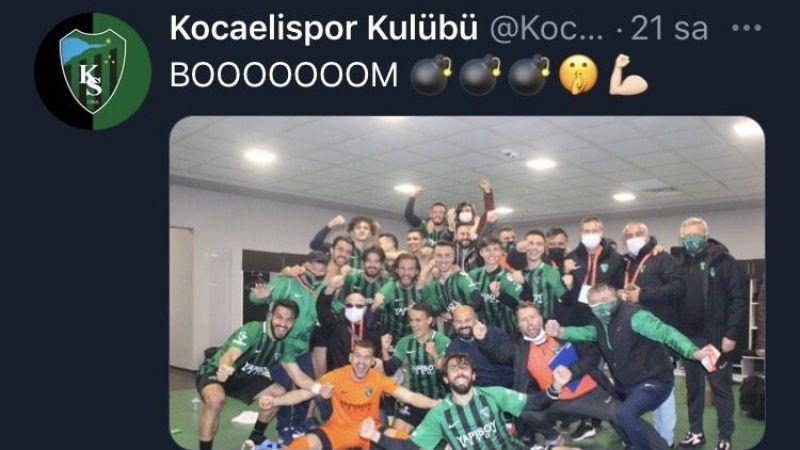 Kocaelispor'dan göndermeli paylaşım