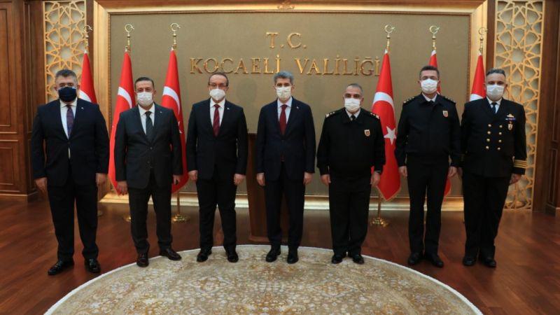 İçişleri Bakan Yardımcısı İnce, Kocaeli Güvenlik ve Asayiş Toplantısına katıldı