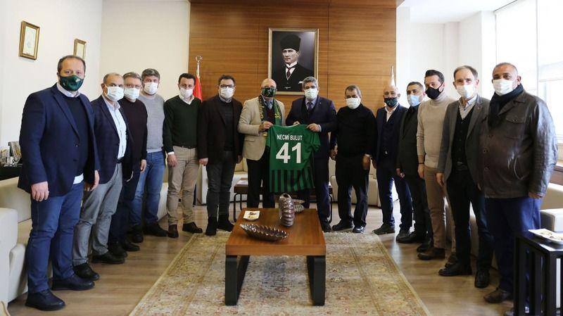 Kocaelispor'dan KOTO'ya ziyaret: Gurur duyuyoruz