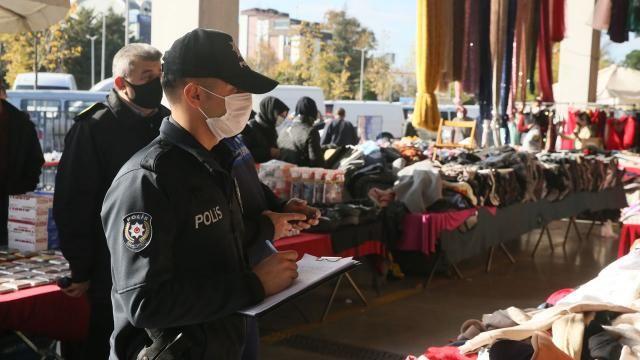 Kocaeli'de yasağı delen 380 kişiye para cezası