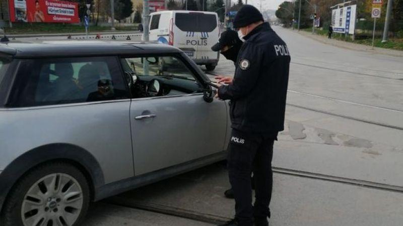 Kocaeli'de yasağı delen 290 kişiye para cezası