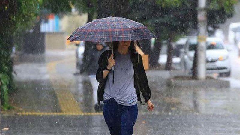 Yarına dikkat! Sağanak yağış geliyor