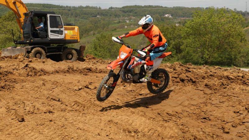 İzmit'in ilk motocross parkuru yakında hizmete açılacak