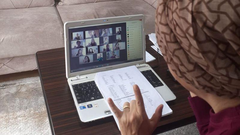 KO-MEK'ten Kızılay'a işaret dili eğitimi