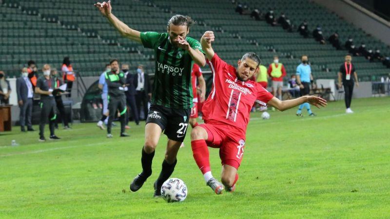 Size inanıyoruz! Yeşil siyahlılar, final bileti için Trabzon'da