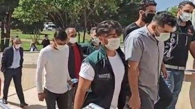 Kilolarca uyuşturucu ile yakalanan zehir tacirleri tutuklandı