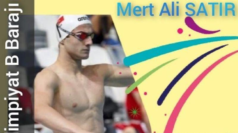 Mert Ali Satır Olimpiyat B barajını geçti