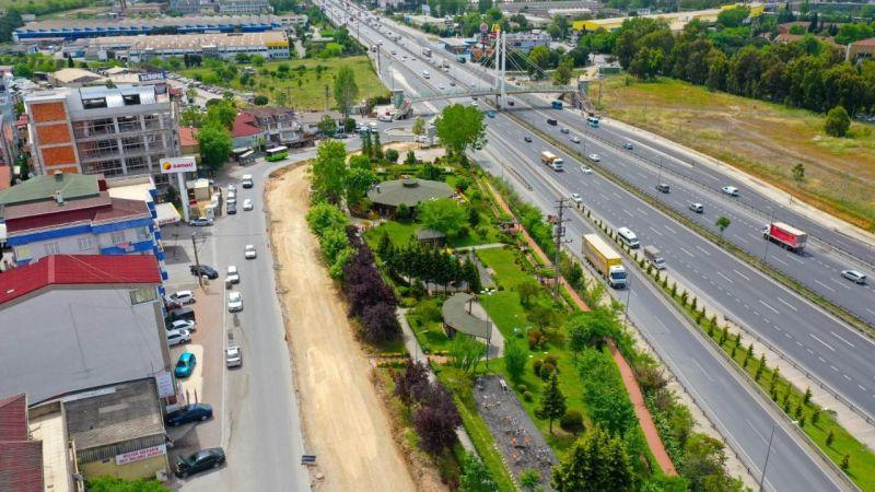 Çayırova'da önemli güzergahtaki cadde genişletiliyor