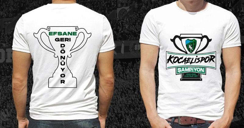 Şampiyonluk tişörtleri 40 TL'den satışta