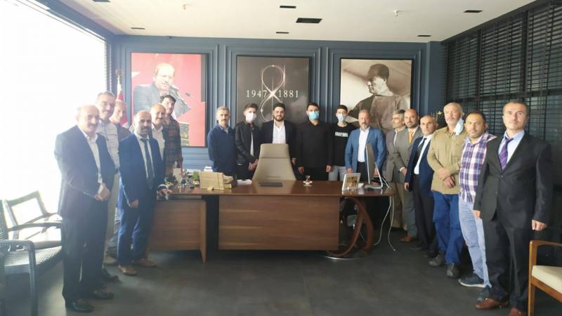 BTP Kocaeli, genel başkan Baş'a gitti