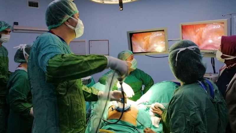 Kursiyerlere izsiz ameliyatı anlattılar