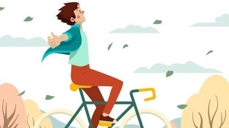 """""""Bisiklet, sağlıklı bir ulaşım aracıdır"""""""