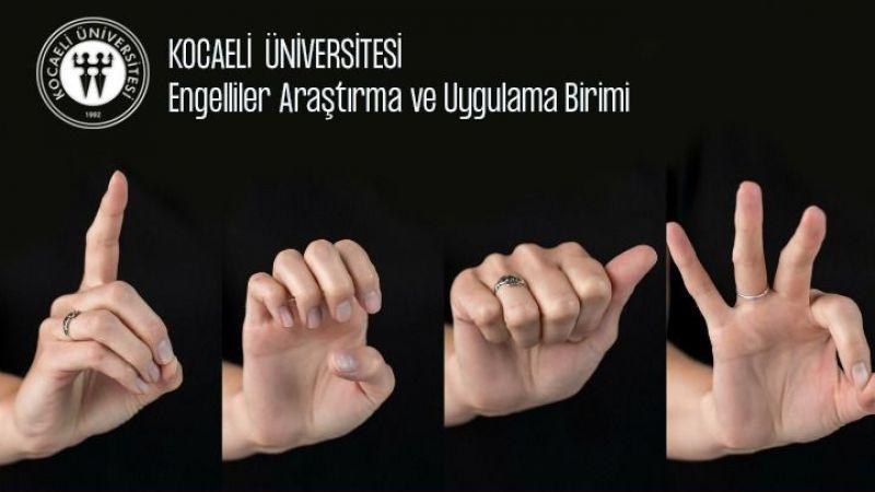 KOÜ işaret dili eğitimlerine devam ediyor