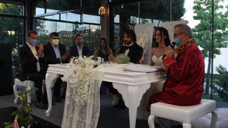 Sarıgül, Buse-Erenay çifti için Kocaeli'ye geldi
