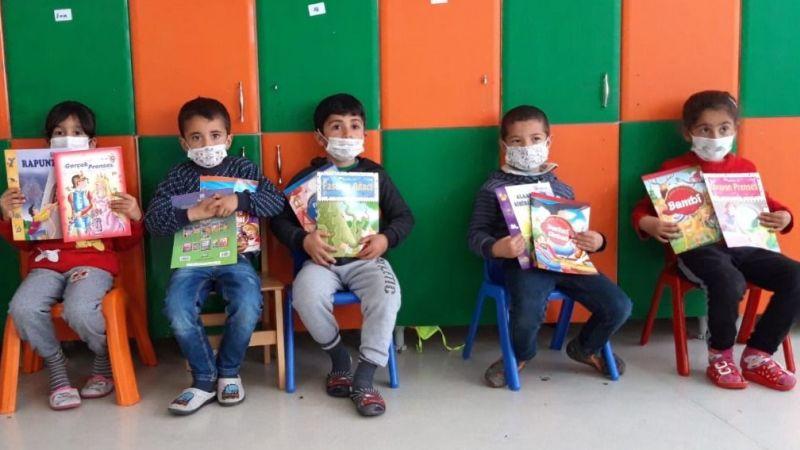 Minik öğrencileri kitapla buluşturdular
