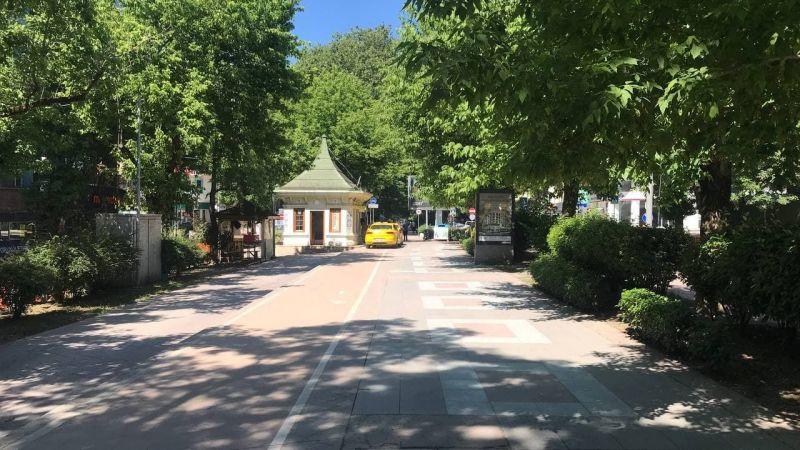 Kocaeli'de meydan ve caddelerde sessizlik hakim