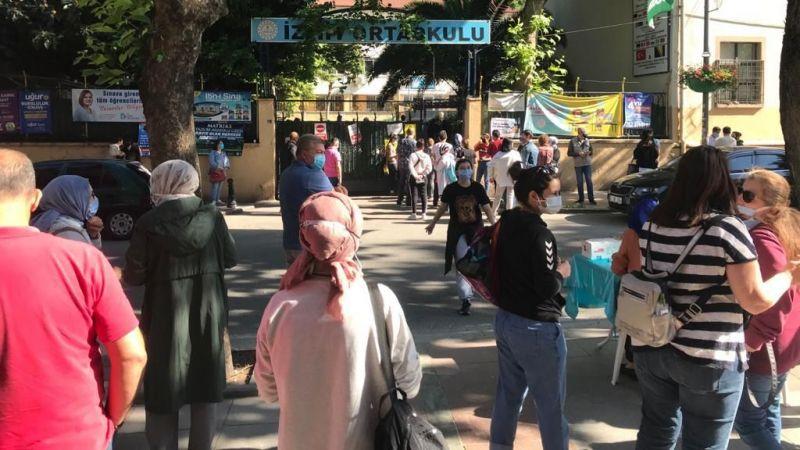 Binlerce öğrenci LGS'de ter döktü