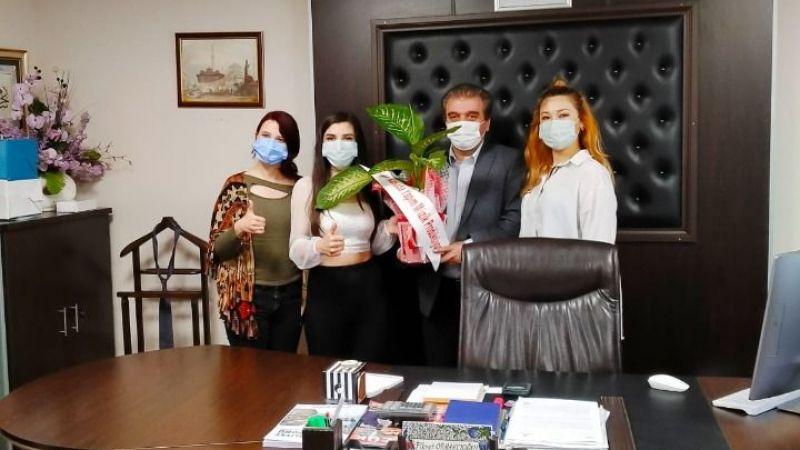 Yeşil Kasaba ekibinden Ormancıoğlu'na ziyaret