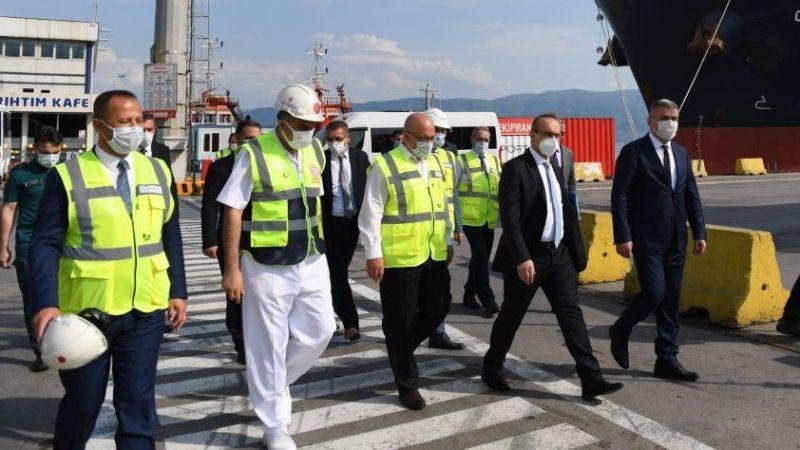 Vali Yavuz'dan iki limanda incelemeler