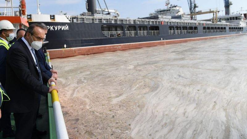 Vali Yavuz, müsilaj temizleme çalışmalarını inceledi