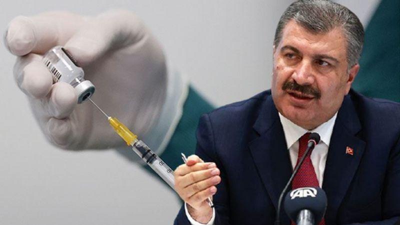 """Bakan Koca'dan aşı açıklaması: """"40 yaşa indik"""""""