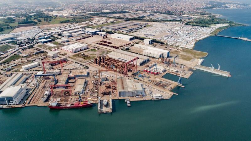 KOSBAŞ üçüncü en büyük tersane bölgesi! 739 milyon dolar ticaret hacmi var...