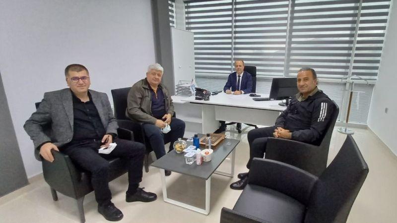 Özgür Kocaeli Gazetesi'nden BİK Şube Müdürü'ne ziyaret