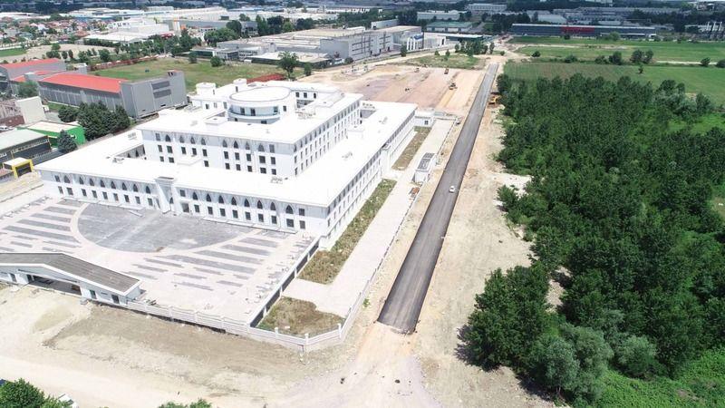 Yeni Emniyet Müdürlüğü çevre yollarında asfaltlama başlandı