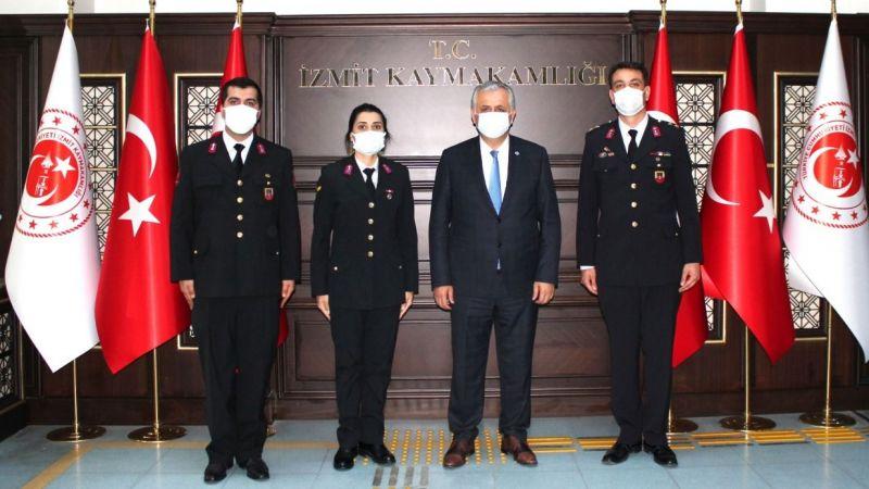 Jandarma'dan Kaymakam Cinbir'e ziyaret