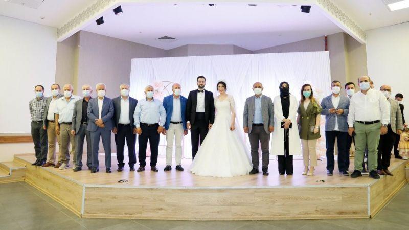 Ayşe Nur ve Doğan evlendi