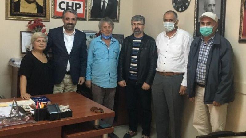 Eski SHP ilçe başkanı CHP üyesi oldu