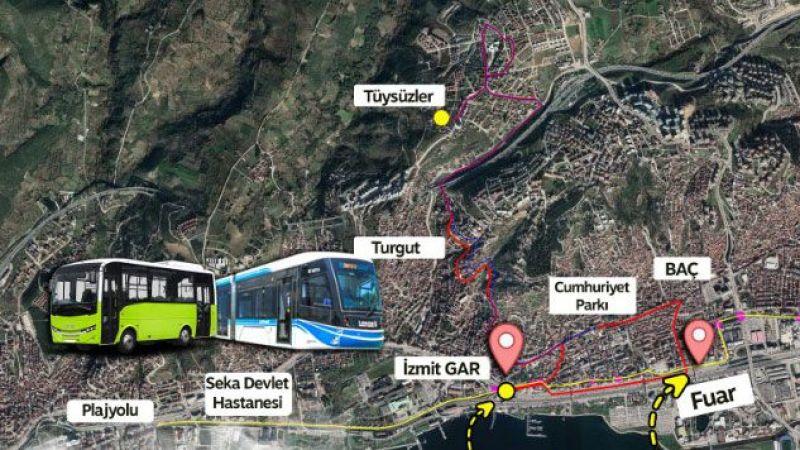 İki hatta tramvaya ücretsiz aktarma başlıyor