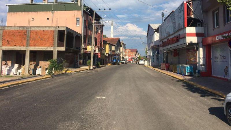 Başiskele'de cadde ve sokaklar elden geçiyor